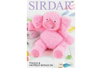 Sirdar 2487 Elephant in Touch and Bonus DK (downloadable PDF)