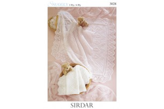 Sirdar 3028 Snuggly 4 Ply & 3 Ply (leaflet)
