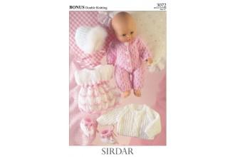 Sirdar 3072 Bonus DK (downloadable PDF)