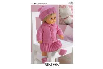 Sirdar 3119 Bonus DK (downloadable PDF)