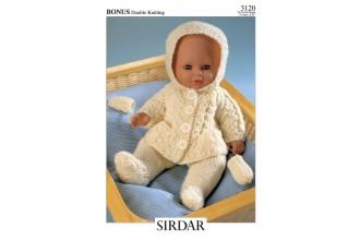 Sirdar 3120 Bonus DK (downloadable PDF)