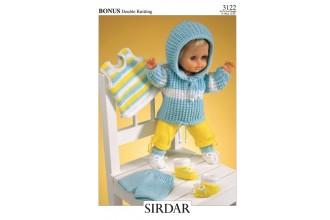Sirdar 3122 Bonus DK (downloadable PDF)