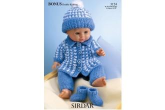 Sirdar 3124 Bonus DK (downloadable PDF)