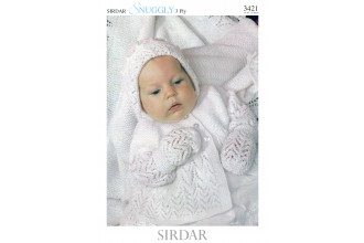 Sirdar 3421 Snuggly 3 Ply (downloadable PDF)