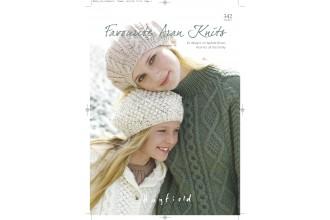 Sirdar 0342 Favourite Aran Knits 1 (book)