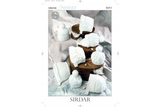 Sirdar 3653 Snuggly DK & 4 Ply (downloadable PDF)
