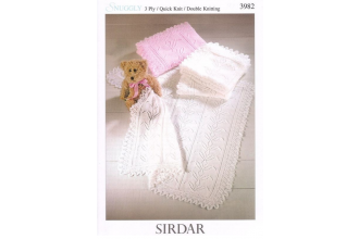 Sirdar 3982 Snuggly 3 Ply, Quick Knit, DK(leaflet)