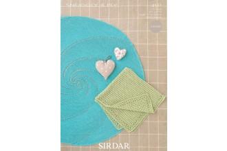 Sirdar 4511 Snuggly 4 Ply Crochet Blankets (leaflet)