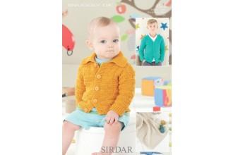 Sirdar 4526 Snuggly DK Cardigans and Blanket (leaflet)