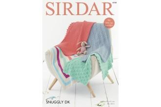 Sirdar 4749 Blankets in Snuggly DK (downloadable PDF)