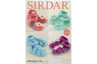 Sirdar 4752 Sandals in Snuggly DK (downloadable PDF)