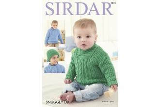 Sirdar 4815 Sweaters in Snuggly DK (leaflet)