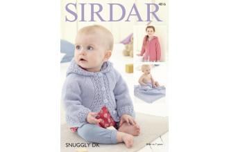Sirdar 4816 Girl's Jacket and Blanket in Snuggly DK (leaflet)