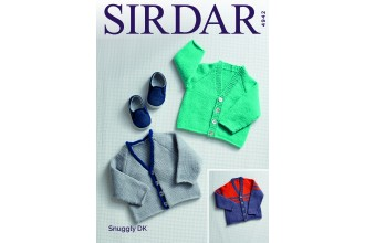 Sirdar 4942 Cardigans in Snuggly DK (downloadable PDF)