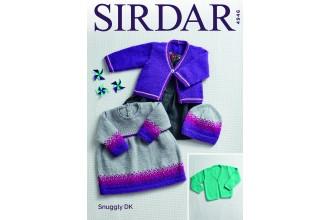 Sirdar 4946 Dress, Cardigans and Hats in Snuggly DK (downloadable PDF)
