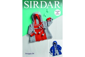 Sirdar 4947 Coats and Hats in Snuggly DK (downloadable PDF)