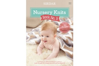 Sirdar 0502 Nursery Knits Book No. 3 in Snuggly DK, Snuggly Spots DK and Snowflake DK (booklet)