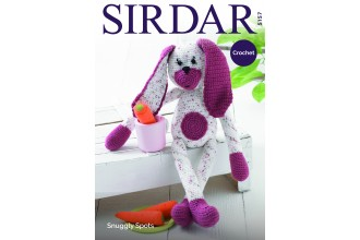 Sirdar 5157 Crochet Rabbit in Snuggly Spots DK and Snuggly DK (downloadable PDF)