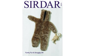 Sirdar 5171 All-In-One in Funky  Fur and Snuggly DK (leaflet)