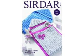 Sirdar 5192 Sleeping Bags in Sweetie and Snuggly DK (downloadable PDF)