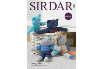 Sirdar 5200 Crochet Teds in Snuggly DK (downloadable PDF)