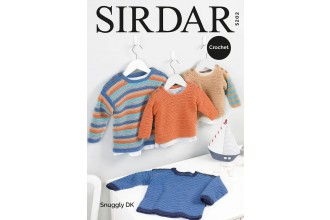 Sirdar 5202 Sweaters in Snuggly DK (downloadable PDF)