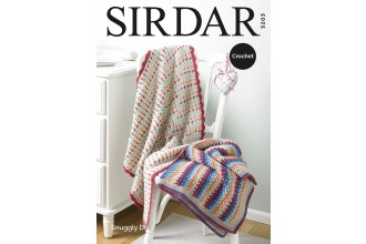Sirdar 5203 Blankets in Snuggly DK (downloadable PDF)