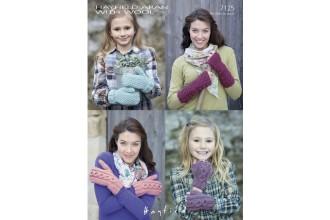 Sirdar 7125 Hayfield Aran with Wool Gloves (downloadable PDF)