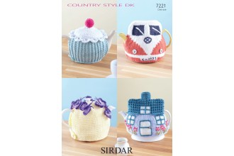 Sirdar 7221 Country Style DK Teacosies (leaflet)