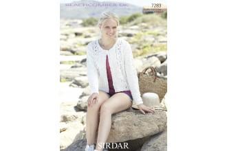 Sirdar 7283 Beachcomber DK Cardigans (downloadable PDF)