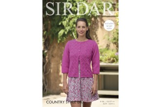 Sirdar 7936 Woman's Jacket in Country Style DK (downloadable PDF)