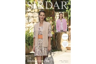Sirdar 7937 Jacket and Waistcoat in Country Style DK (downloadable PDF)