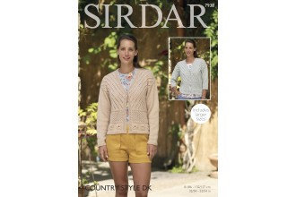 Sirdar 7938 Woman's Jacket in  Country Style DK (leaflet)