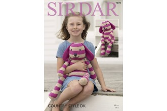Sirdar 7939 Rabbit Soft Toy in Country Style DK (downloadable PDF)