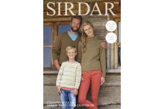Sirdar 7978 Sweaters in Country Style DK, Crofter DK and Harrap Tweed DK (downloadable PDF)