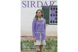 Sirdar 8016 Jacket in Country Style DK (leaflet)