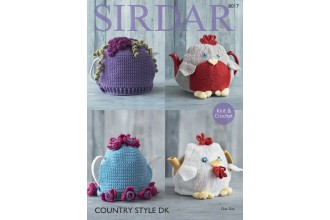 Sirdar 8017 Teacosies in Country Style DK (downloadable PDF)