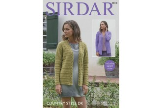Sirdar 8018 Jackets in Country Style DK (downloadable PDF)