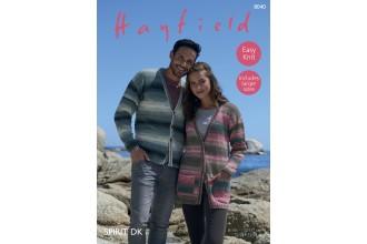 Sirdar 8040 Cardigans in Hayfield Spirit DK (leaflet)
