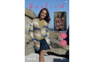 Sirdar 8041 Jacket and Waistcoat in Hayfield Spirit DK (leaflet)
