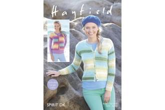 Sirdar 8114 Cardigans in Hayfield Spirit DK (leaflet)
