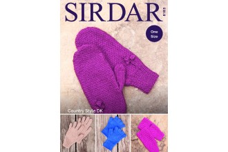 Sirdar 8183 Gloves in Country Style DK (downloadable PDF)