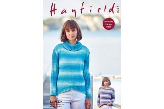 Sirdar 8264 Sweaters in Hayfield Spirit DK (downloadable PDF)