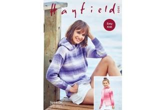 Sirdar 8265 Sweater and Jacket in Hayfield Spirit DK (leaflet)