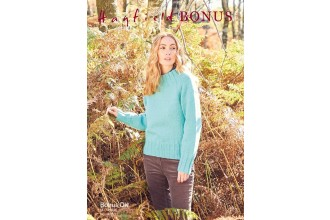 Sirdar 8283 Sweater in Hayfield Bonus DK (downloadable PDF)