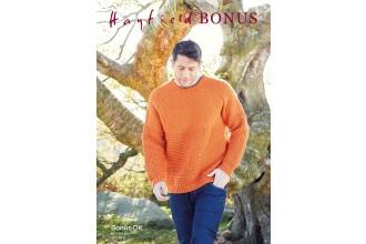 Sirdar 8286 Man's Sweater in Hayfield Bonus DK (leaflet)
