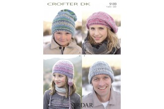 Sirdar 9189 Crofter DK (leaflet)