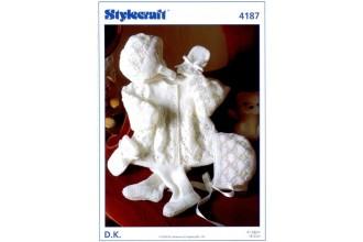 Stylecraft 4187 DK (leaflet) Pram Set