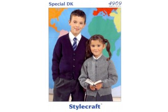 Stylecraft 4909 Special DK (leaflet) Cardigans