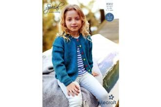 Stylecraft 8902 Special DK (leaflet) Girls Cardigans